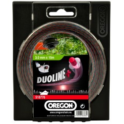 Žací struna DUOLINE PLUS 2,4mm x 15m
