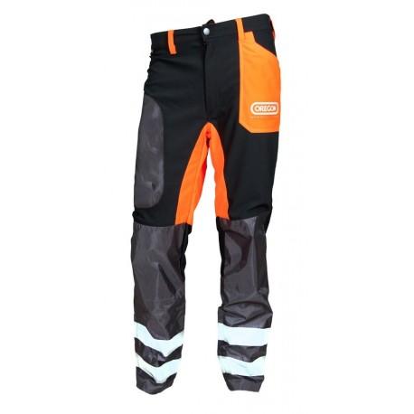Protipořezové kalhoty pro operatorów kos i wykaszarek (velikost S)