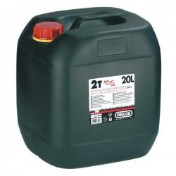 Olej pro 2T motory 20L OREGON červený