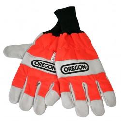 Protipořezové rukavice OREGON - ochrana levé ruky
