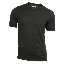 Funkční triko černé - krátký rukáv (L)
