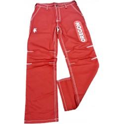 Pracovní kalhoty OREGON - červené