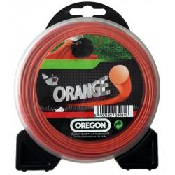 Nyl.lanko oranžové KRUH 2,0mm x 15m