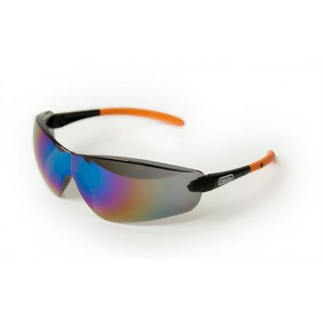 Ochranné brýle - tmavé zrcadlové