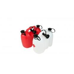 Kanystr na palivo 3L a olej 1,5L YUKON červený s nalévacím hrdlem