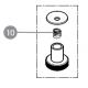 Vratná pružina do ostřičky (průměr 180mm)