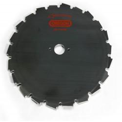 Ocelový nůž pro křovinořezy EIA - 22-zubý x 200mm x 1,5mm, středový otvor 25,4mm