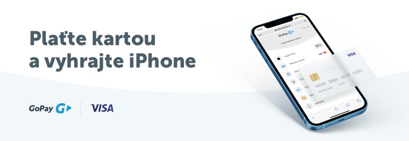 GoPay soutěž - vyhraj iPhone