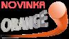 Žací struna oranžová kulatá